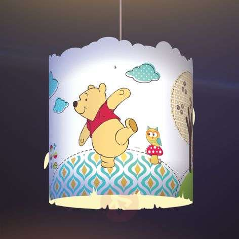 Sweet Winnie the Pooh hanging light for children