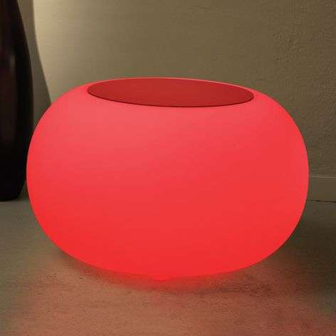 Table BUBBLE Indoor RGB LED + red felt