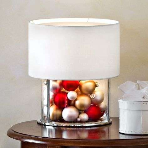 Table lamp Boston to be decorated