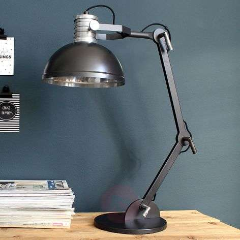 Table lamp Brooklyn in stylish factory design