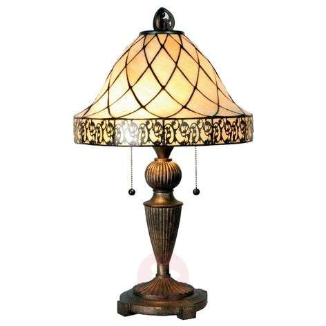 Table lamp Diamond in the Tiffany style 62cm-6064045-31