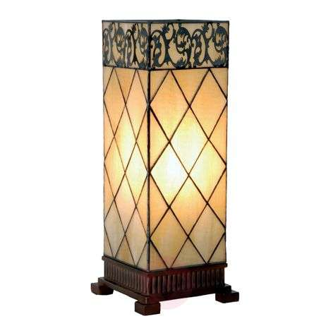 Table lamp Diamond, Tiffany-style 45cm