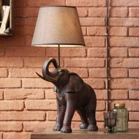 Table lamp Elephant Safari