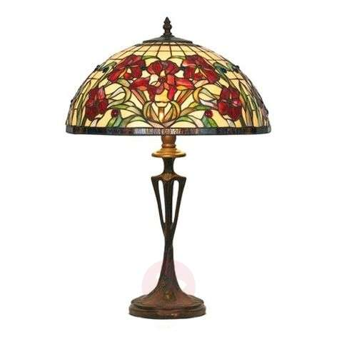 Table lamp Eline in Tiffany style