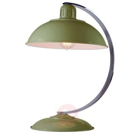 Table lamp Franklin green painted-3048779-31
