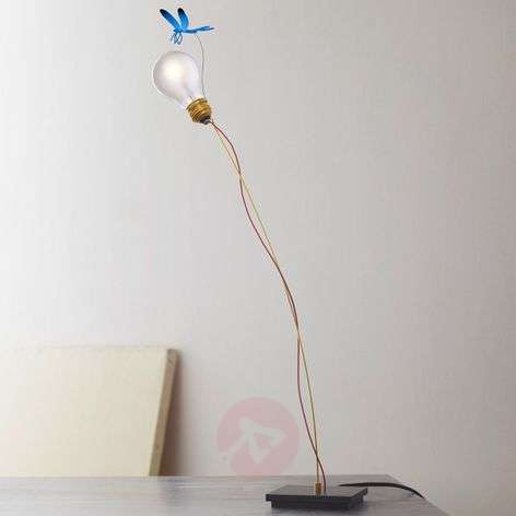 Table lamp I Ricchi Poveri Bzzzz with dragonfly