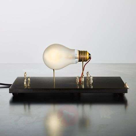 Table lamp I Ricchi Poveri Monument for a Bulb