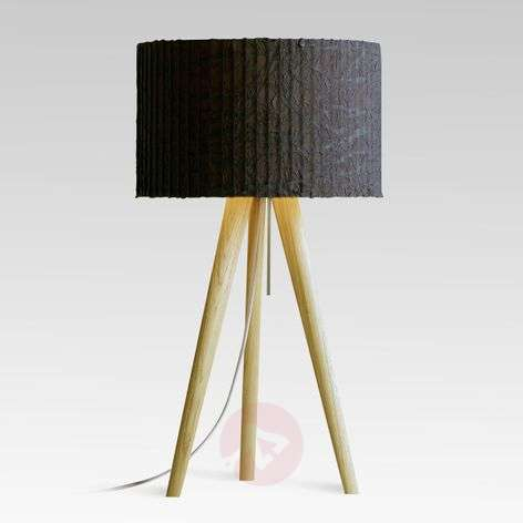Table lamp Sten Cloud white oak graphite