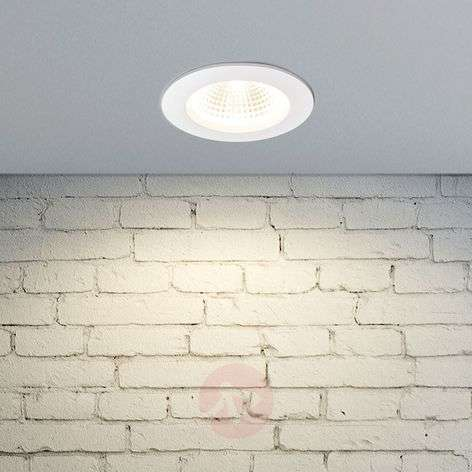 Tadeus - LED recessed light with white ring, IP65
