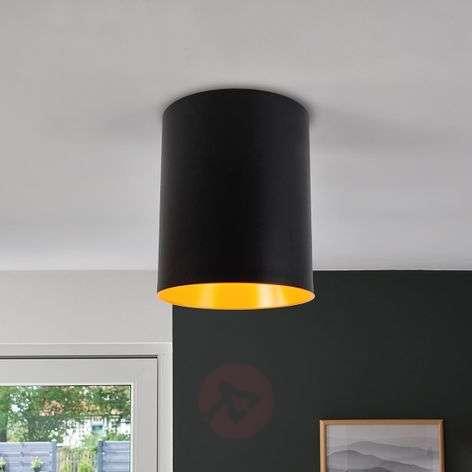 Tagora designer LED ceiling light, cylinder