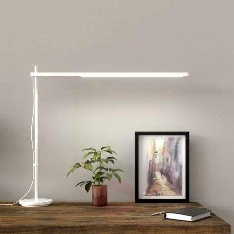 Talak Professional LED desk lamp, white