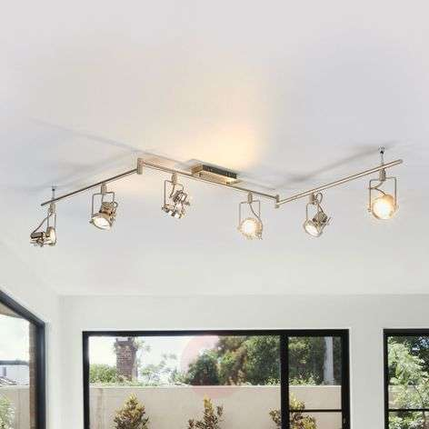 Taleja - 6-bulb LED ceiling light