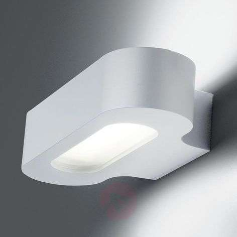 Talo simple designer wall light, white