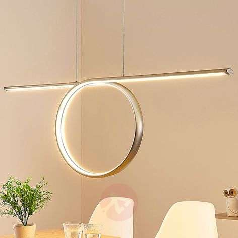 Tani loop-shaped LED pendant light