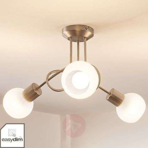 Tanos - LED ceiling lamp with 3 Easydim bulbs