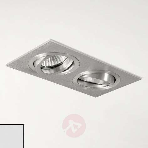 Taro Twin Built-In Ceiling Spotlight