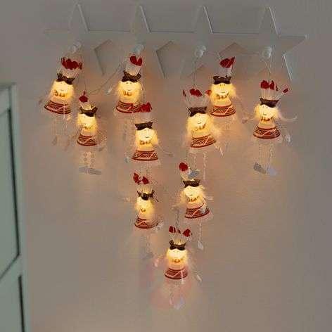Ten-bulb LED string lights Indians