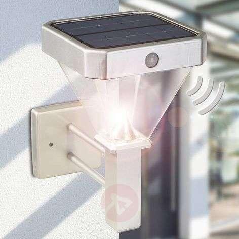 Tessa LED solar wall light with motion sensor