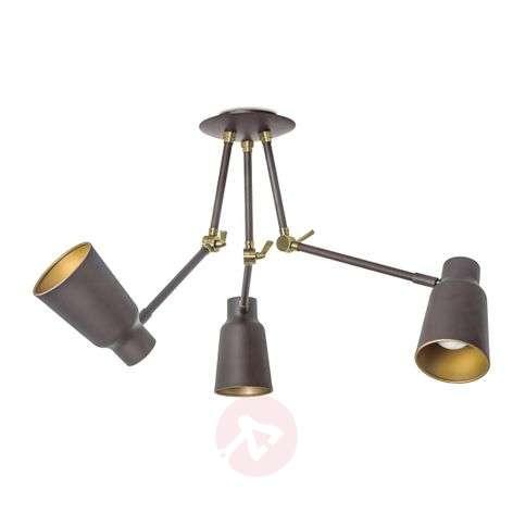 Three-armed ceiling light Funk