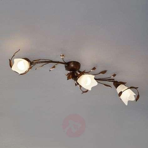 Three-bulb ceiling light CAMPANA