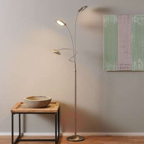 Three-bulb floor lamp Diamond with dimmer-8509725-31