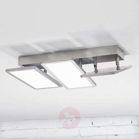 Three-bulb LED ceiling light Vanessa