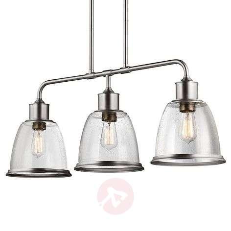 Three-bulb pendant lamp Hobson