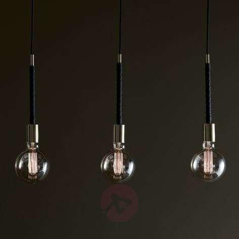 Three-bulb pendant light Saddle