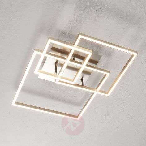Three metal frames - the LED ceiling lamp Delian