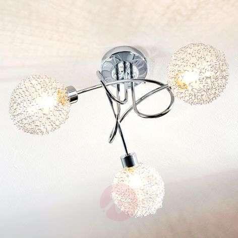 Ticino LED ceiling lamp, 3 bulbs-9620780-31