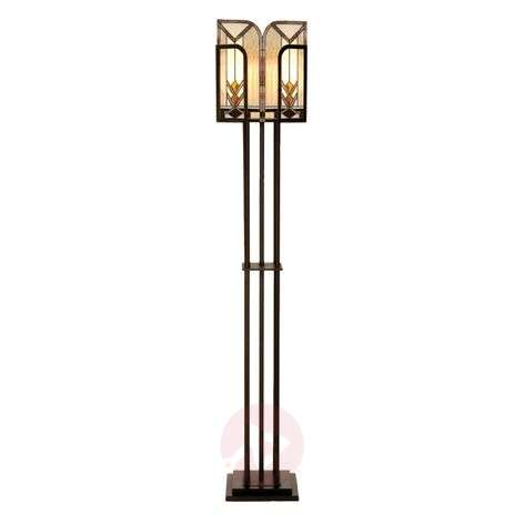 Tiffany-style floor lamp Madison