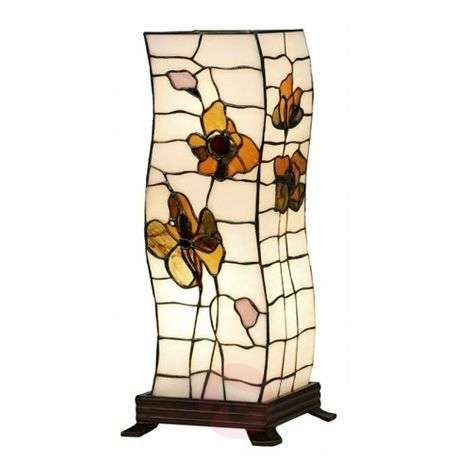 Tiffany-style table lamp Blossom