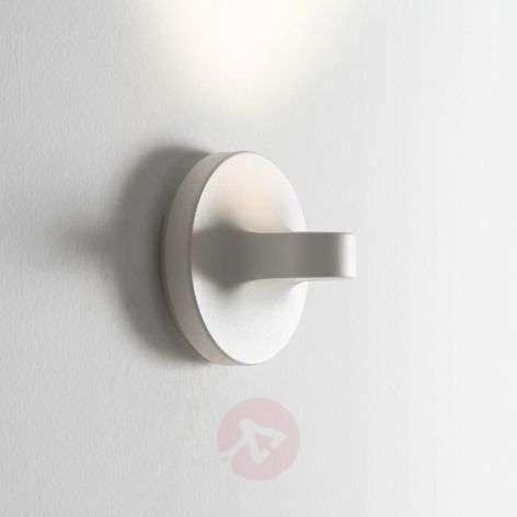 Tigia small LED wall light, white