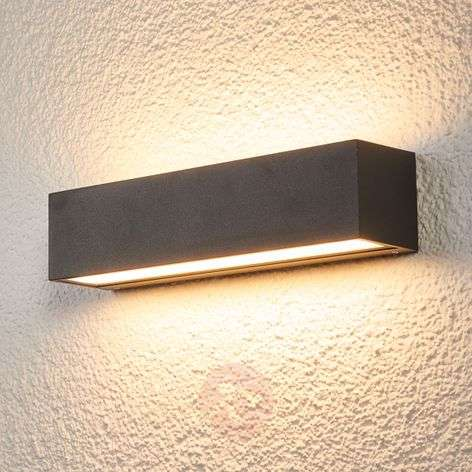 Tilde - elongated IP65 LED wall lamp for outdoors