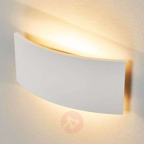Timeless wall light Naike made of plaster