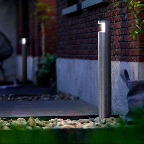 Timelessly modern path light Squirrel - with LEDs