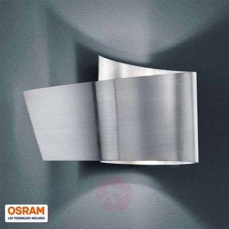 Tobi wall light with IP44, matt nickel-9004599-32