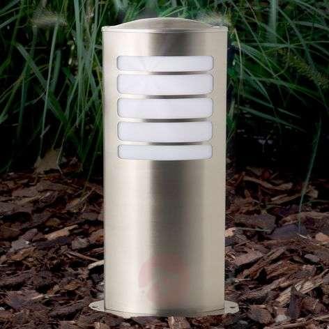 Todd oval pillar light made of stainless steel