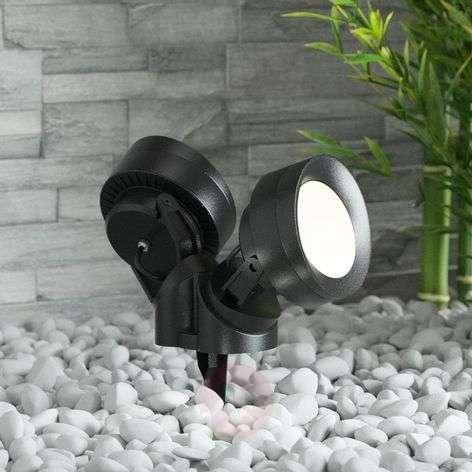 Tommy-EL ground spike light LED black 10W 2-bulb