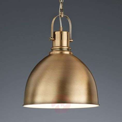 Tores hanging light, brass-Coloured