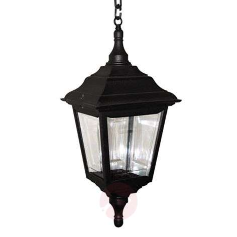 Traditionally shaped outdoor hanging lamp Kerry