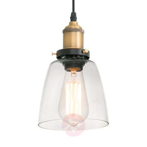 Transparent LIZ II pendant light