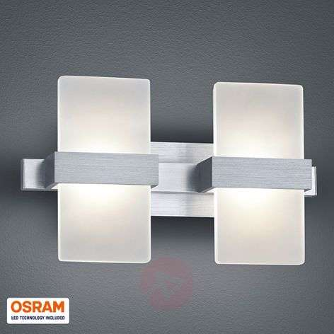 Trendy 2-bulb LED wall light Platon