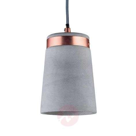 Trendy concrete hanging light Stig