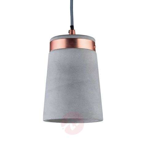 Trendy concrete hanging light Stig