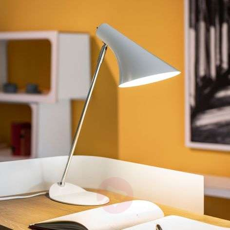 Trendy table lamp Liam white