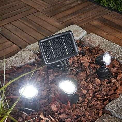 Trio solar spotlight 3-piece set