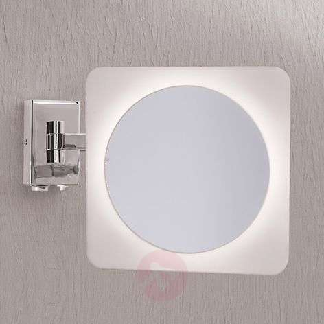 Tulsi Magnifying Wall Mirror with LED Light