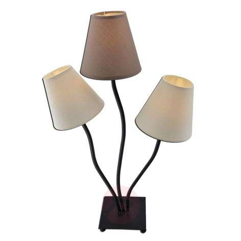 Twiddle 3 Bulb Table Lamp In Brown Tones Lights Ie