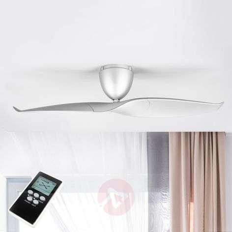 Two blade Ceiling fan Wave, silver, 126